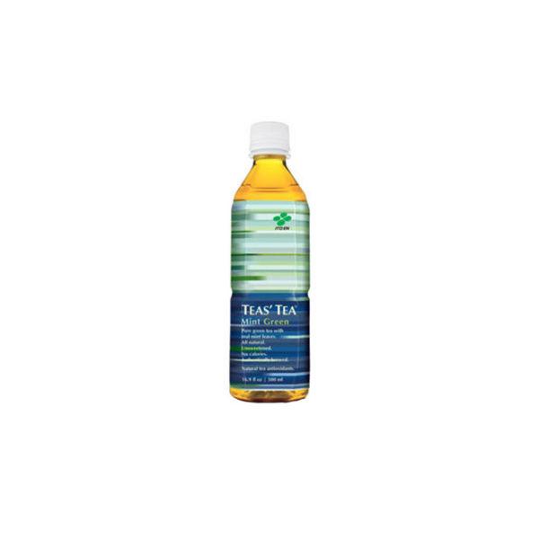 Ito En Tea's Tea - Mint Green Tea 13.8oz Bottle Case