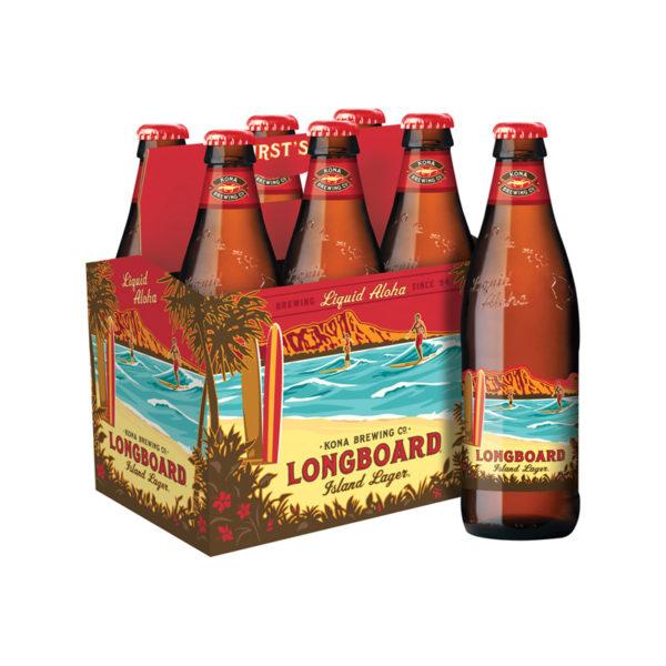 Kona - Longboard Lager 12oz Bottle 24pk Case