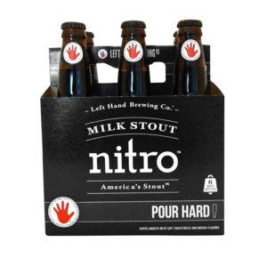 Left Hand - Milk Stout Nitro 12oz Bottle 24pk Case