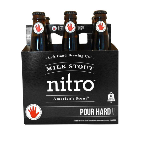 Left Hand - Milk Stout Nitro 12oz Bottle 24pk Case