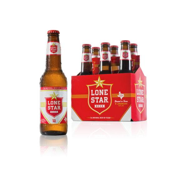 Lone Star - Lager 12oz Bottle 24pk Case
