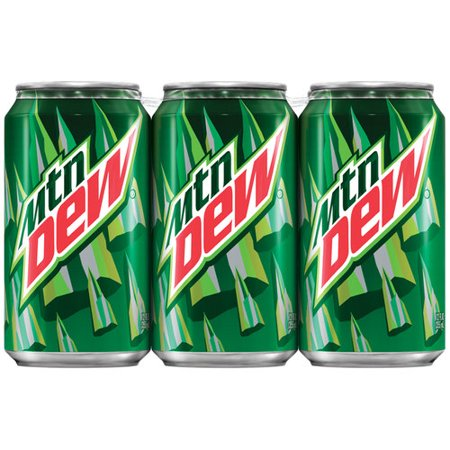 Mtn Dew - 12oz Can Case