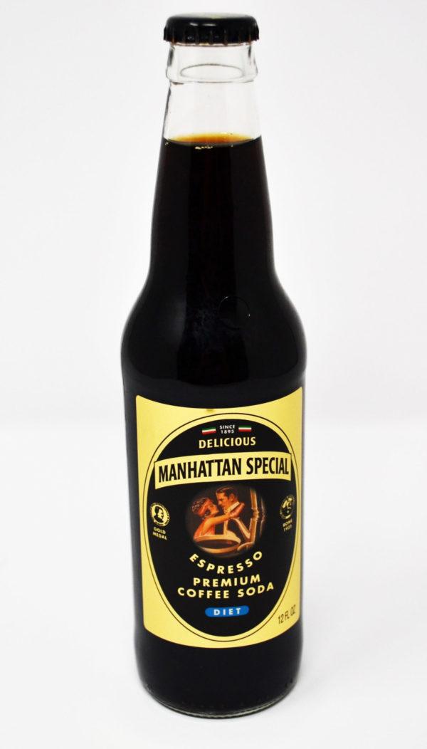 Manhattan Special - Diet Coffee 12oz Bottle Case