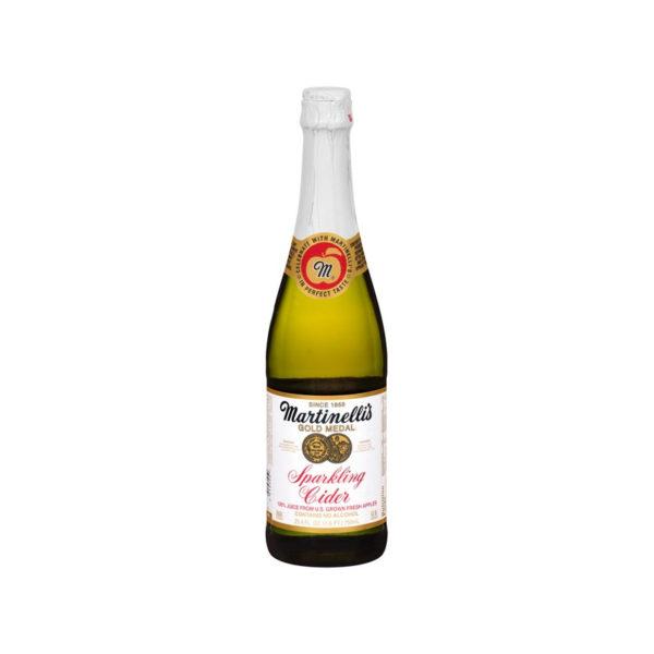 Martinelli's - Sparkling Apple Cider 750ml (25.3oz) Bottle Case