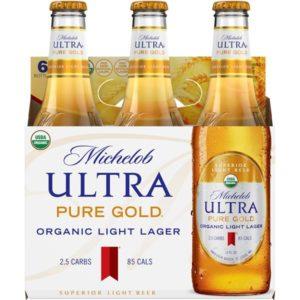 Michelob - Ultra Gold Organic 12oz Bottle 24pk Case
