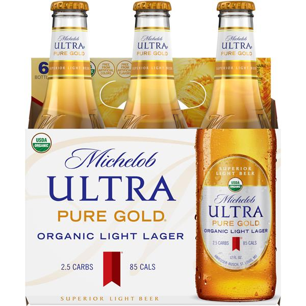 Michelob - Ultra Gold Organic 12oz Bottle 24pk Case