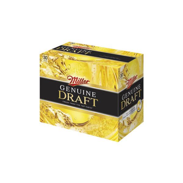 Miller - Genuine Draft 12oz Can 24pk Case