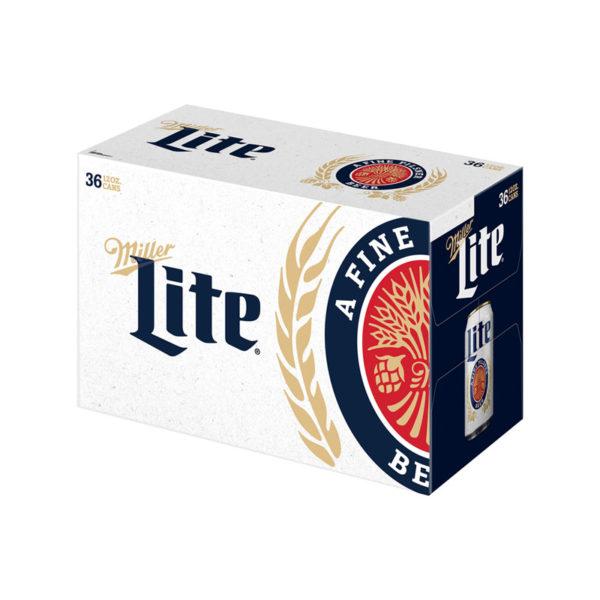 Miller - Lite 12oz Can 24pk Case