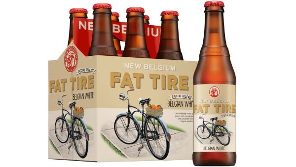 New Belgium - Fat Tire Belgian White Ale 12oz Bottle 24pk Case