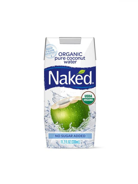 Naked - Coconut Water 11oz Box Case - 12 Pack