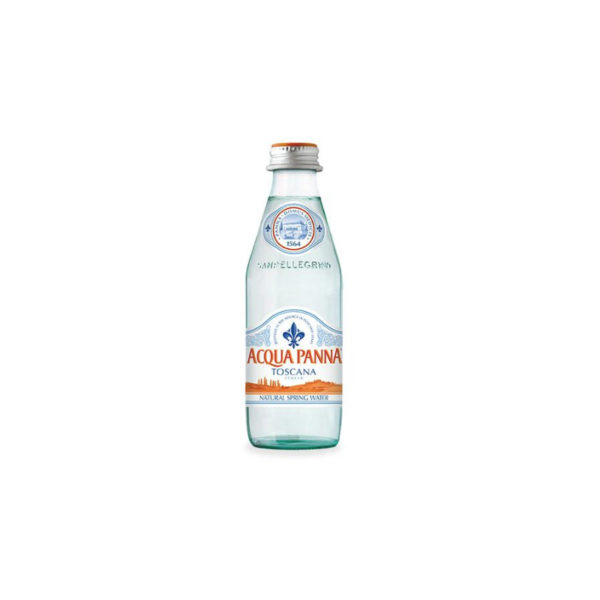 Acqua Panna - 250ml (8.4oz) Glass Bottle Case