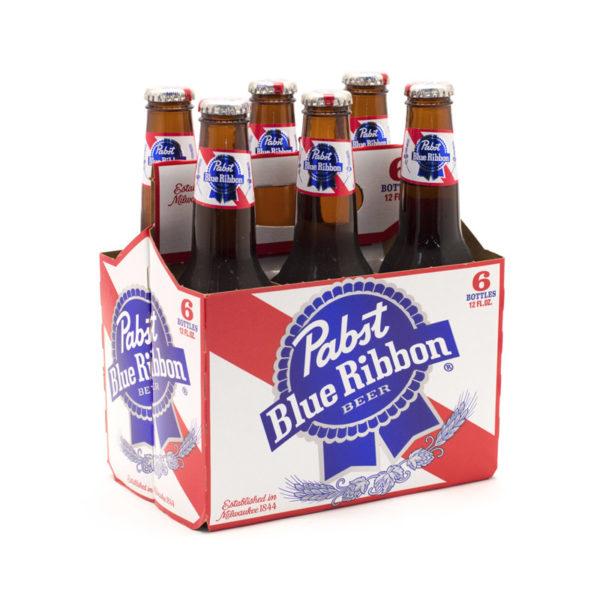 Pabst - Blue Ribbon 12oz Bottle 24pk Case