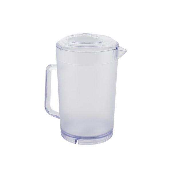 Pitcher - Beveled Clear Plastic 60oz