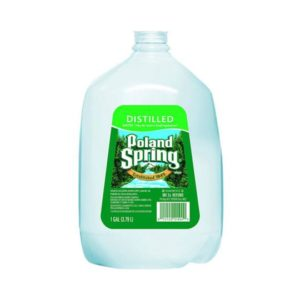 Poland Spring - 1 Gallon Distilled Water (6 Pack) Case - 6 Pack