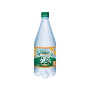 Poland Spring - Sparkling Orange 33oz Plastic Bottle Case - 12 Pack