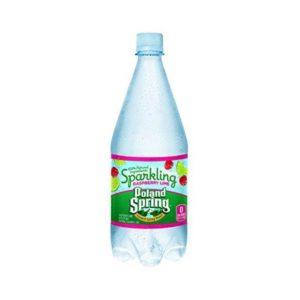 Poland Spring - Sparkling Raspberry-Lime 33oz Plastic Bottle Case - 12 Pack