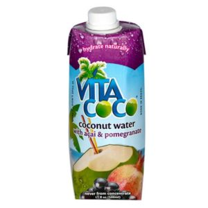 Vita Coco - Acai/Pomgranate Coconut Water 500ml (16.9oz) Box Case - 12 Pack