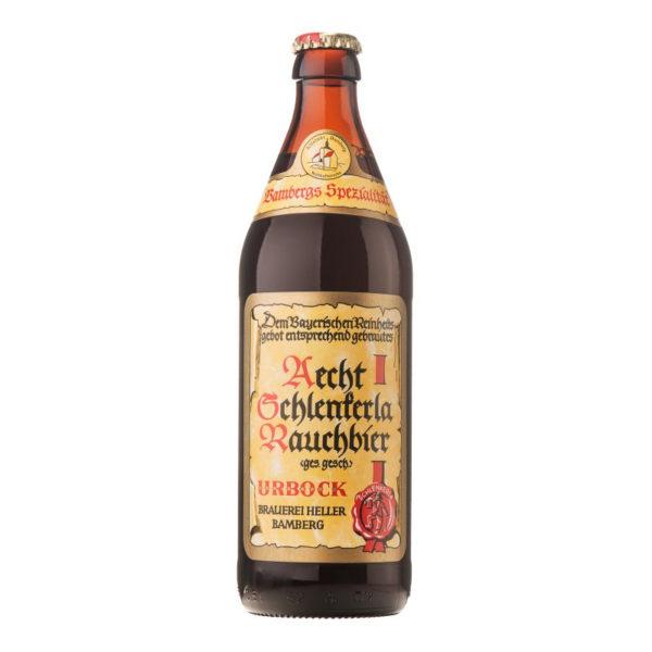 Aecht Schlenkerla Rauchbier - Smoked Urbock 500ml (16.9oz) Bottle 24pk Case