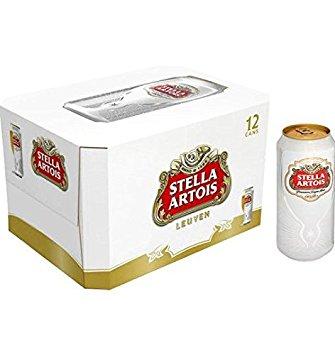 Stella Artois - 11.2oz (330ml) Can 24pk Case