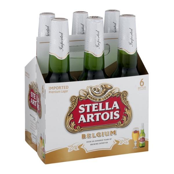 Stella Artois - Lager 330ml (11.2oz) Bottle 24pk Case