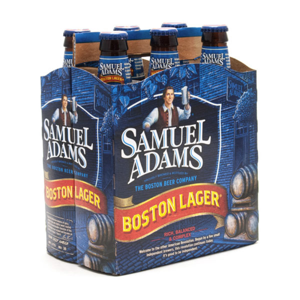 Samuel Adams - Lager 12oz Bottle 24pk Case
