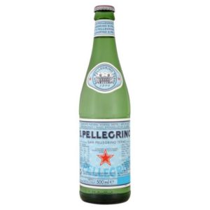 San Pellegrino - 500ml (16.9oz) Glass Bottle Case - 24 Pack