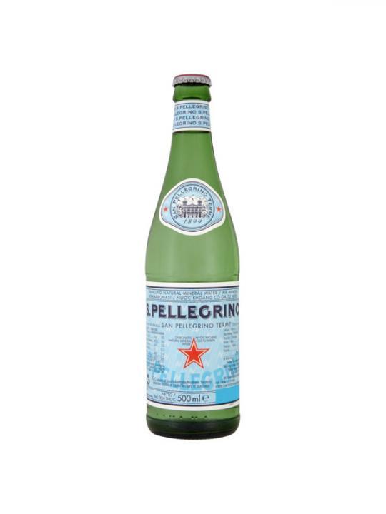 San Pellegrino - 500ml (16.9oz) Glass Bottle Case - 24 Pack