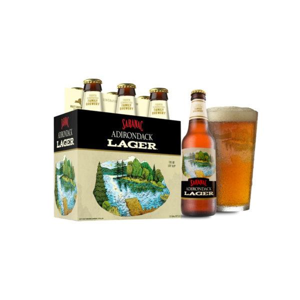 Saranac - Lager 12oz Bottle 24pk Case