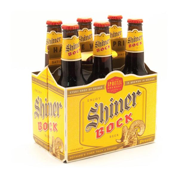 Shiner Bock - Lager 12oz Bottle 24pk Case