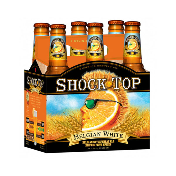 Shock Top - Belgian White 12oz Bottle 24pk Case