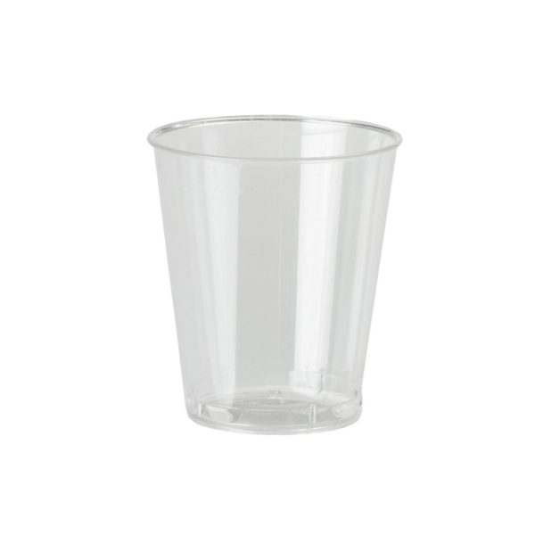 Shot Glass - Clear Plastic (50 Pack)