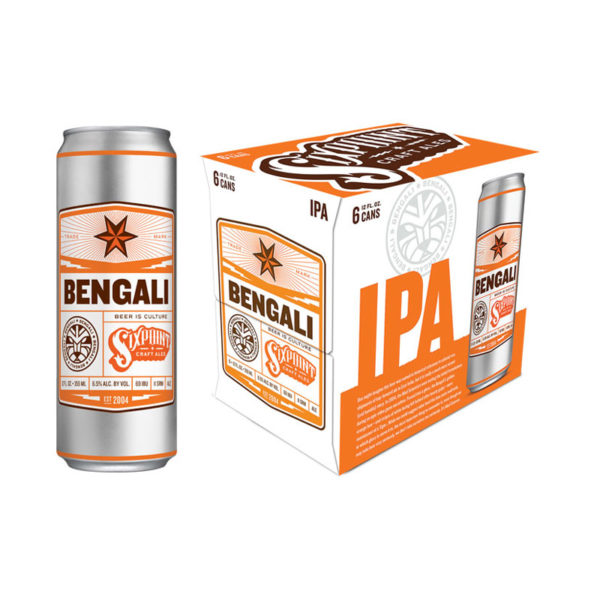 Six Point - Bengali IPA 12oz Can 24pk Case