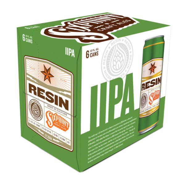 Six Point – Resin 12oz Can 24pk Case