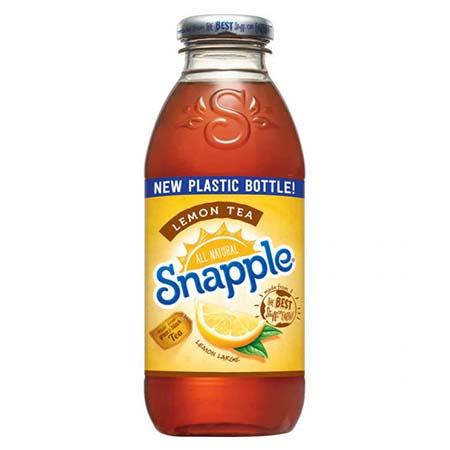 Snapple - Lemon Tea 16oz Plastic Bottle Case