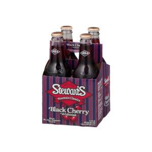 Stewart's - Black Cherry 12oz Bottle Case