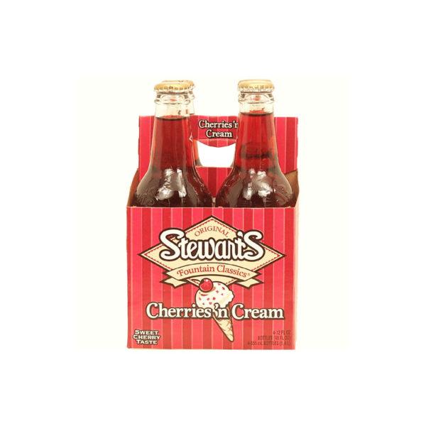 Stewart's - Cherry-N-Cream 12oz Bottle Case