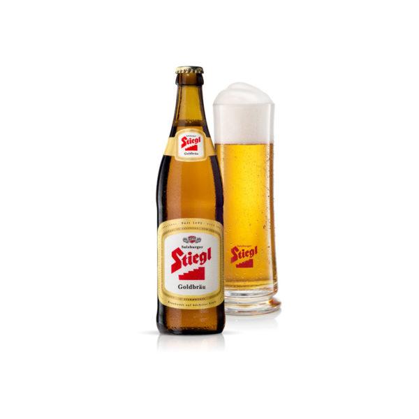 Stiegl -Goldbrau Lager 330ml (11.2oz) Bottle 24pk Case