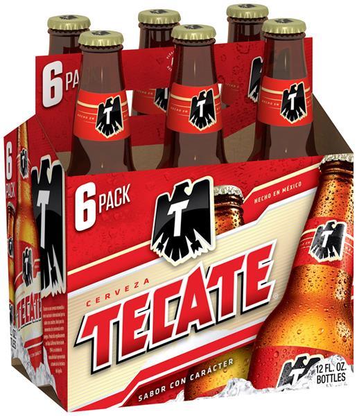 Tecate - Lager 12oz Bottle 24pk Case