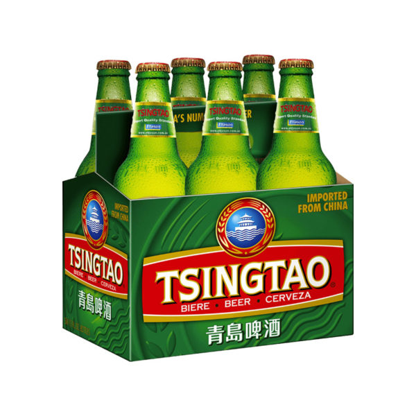 Tsingtao - Lager 12oz Bottle 24pk Case
