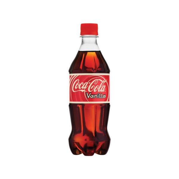 Vanilla Coke - 20oz Bottle Case