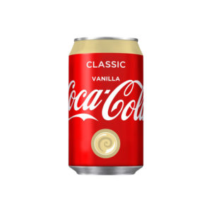 Vanilla Coke - 12oz Can Case
