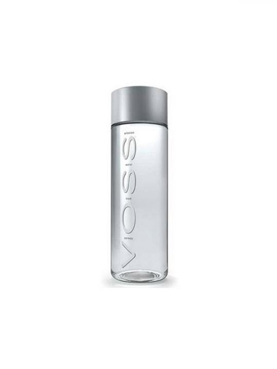 Voss - 375ml (12.6oz) Still Glass Bottle Case - 24 Pack