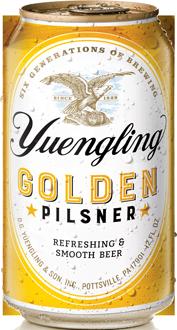 Yuengling - Golden Pilsner 12oz Can 24pk Case