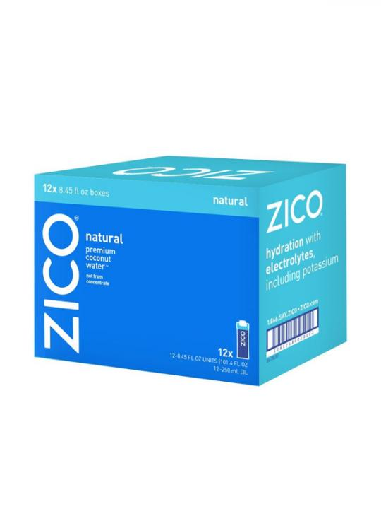 Zico - Coconut Water 250ml (8.45oz) Box Case - 12 Pack