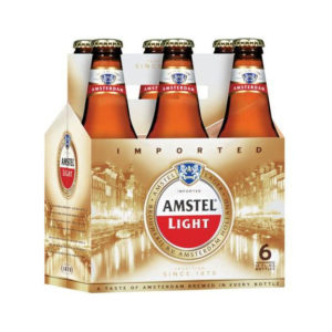 Amstel - Light 12oz Bottle 24pk Case