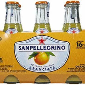 San Pellegrino - Aranciata 200ml (6.7oz) Bottle Case - 24 Pack