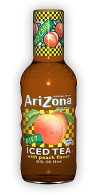 Arizona - Diet Peach 20oz Bottle Case
