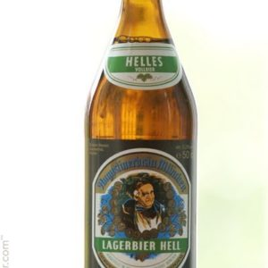 Augustiner - Heller Bock (Light Buck) 330ml (11.2oz) Bottle 24pk Case