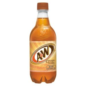 A&W - Cream 20oz Bottle Case