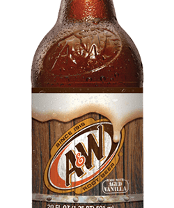A&W - Root Beer 20oz Bottle Case